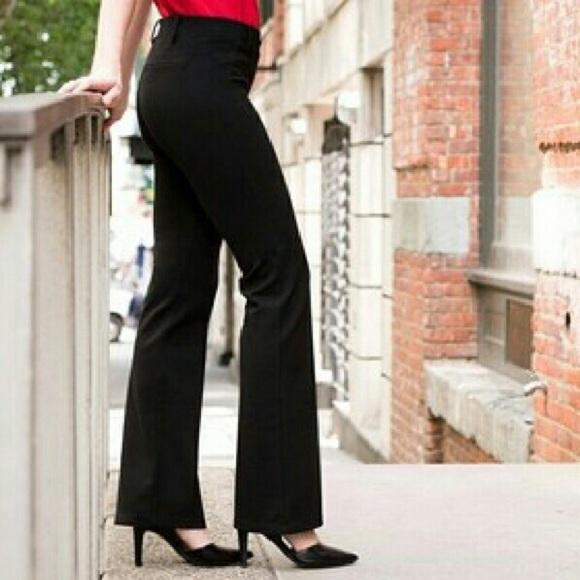 2cdd3d06d8546 Betabrand Pants | Black Dress Yoga Bootcut Pant | Poshmark